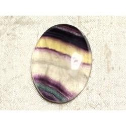 Cabochon de Pierre - Fluorite Ovale 38x29mm N30 - 4558550080219