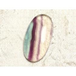 Cabochon de Pierre - Fluorite Ovale 34x18mm N31 - 4558550080226