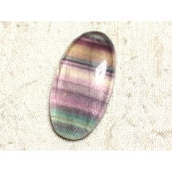 Cabochon de Pierre - Fluorite Ovale 38x20mm N33 - 4558550080240