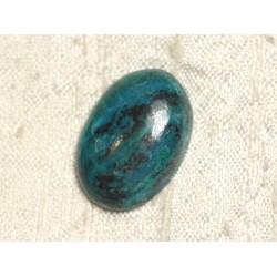 Cabochon Pierre semi précieuse - Azurite Ovale 24x16mm N13 - 4558550079367