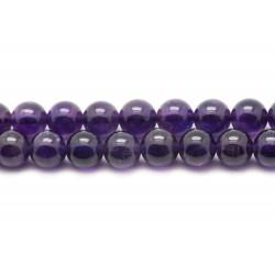 1pc - Perle de Pierre - Améthyste Boule 16mm 4558550001962