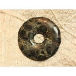 Pendentif Donut Pierre semi précieuse Jaspe Kambaba 45mm n°6 4558550024701