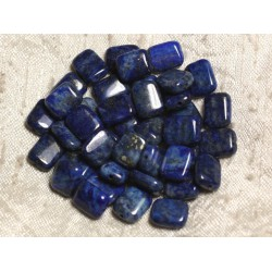 4pc - Perles de Pierre - Lapis Lazuli Rectangles 10x8mm 4558550014269
