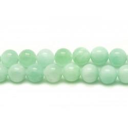 5pc - Perles de Pierre - Quartz Turquoise Boules 8mm 4558550010117