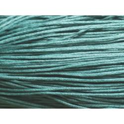Echeveau 90m - Cordon de Coton 1mm Bleu Vert 4558550018373