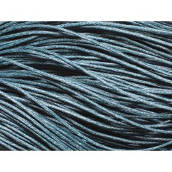 90m - Echeveau Cordon de Coton 1mm Bleu 4558550018823