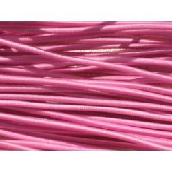 Echeveau 19m - 5 Fils 3,80m Elastique Tissu 1mm Rose 4558550019035