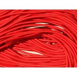Echeveau 19m - 5 Fils 3,80m Elastique Tissu 1mm Rouge 4558550019882