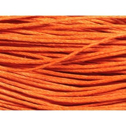 90m - Echeveau Cordon de Coton 1mm Orange 4558550020161