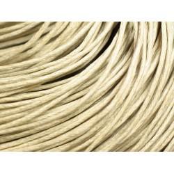 Echeveau 90m - Cordon de Coton 1mm Ecru 4558550020307