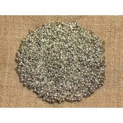 1000pc env - Perles à écraser Métal Argenté qualité 2mm - 4558550024886