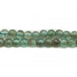 10pc - Perles de Pierre - Apatite Boules 5mm 4558550025371