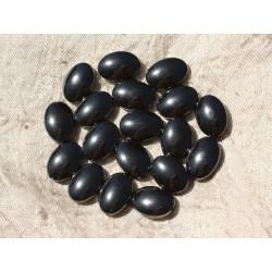 4pc - Perles de Pierre - Hématite Ovales 14x10mm 4558550017871