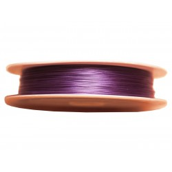 Bobine 70 mètres - Fil Métal Câblé 0.38mm Violet - 4558550026798