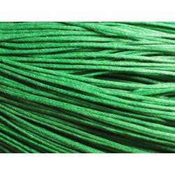 90m - Echeveau Cordon de Coton 1mm Vert 4558550028068
