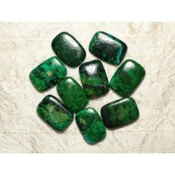 Perles de Pierre - Turquoise teintée 24x17mm - Sac de 2pc 4558550033062