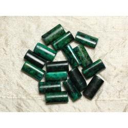 Perles de Pierre - Turquoise teintée 16x8mm - Sac de 4pc 4558550033185