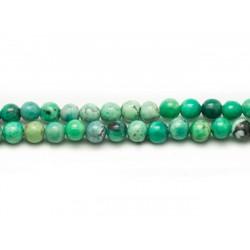 20pc - Perles de Pierre - Turquoise Verte Boules 4mm Vert Menthe 4558550021861