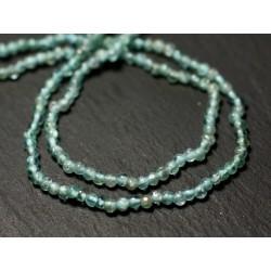 Perles de Pierre Apatite claire Rondelles Boulier 4-5mm 20pc 8741140012110