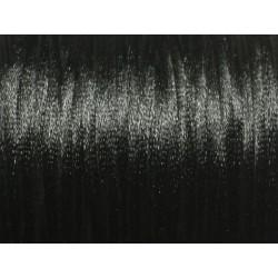 5 mètres - Fil Cordon Satin Queue de rat 2mm Blanc - 8741140022942