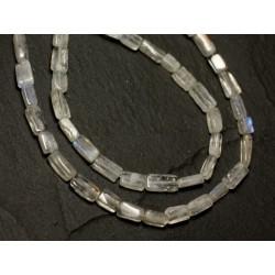 1pc - Perle de Pierre - Pierre de Lune arc en ciel Boule Facettée 5mm - 8741140020283