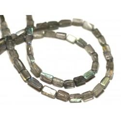 10pc - Perles de Pierre - Labradorite Ovales 6-8mm