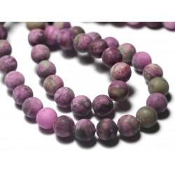 1pc - Perles de Pierre - Sugilite Boules 14mm violet rose - 7427039729079