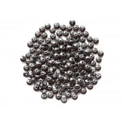 40pc - Perles de Pierre - Hématite Rondelles 4x2mm 4558550038319